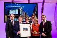 BREEAM Excellent Retail Award, White River Place, St Austell 2010